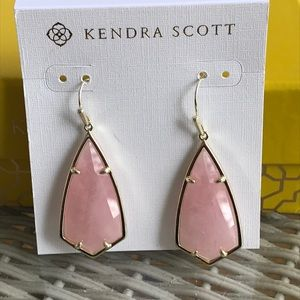 c1fd351d45183 Kendra Scott Jewelry | Limited Olivia Aqua Apatite Earrings | Poshmark